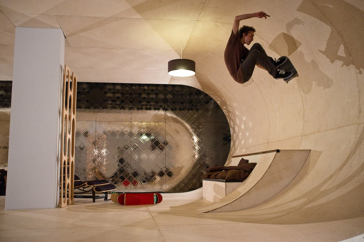 Not Your Mama's (Skateboard) House | News | Archinect