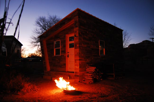 FOUNDhouse in Bluff, Utah. Photo credit- Lacy Williams and Patrick Beseda