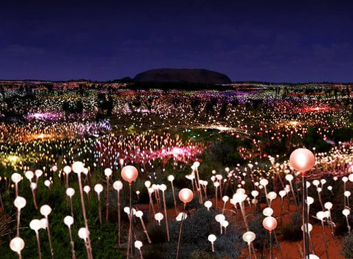 Bruce Munro Field of Light Ayers Rock Australia