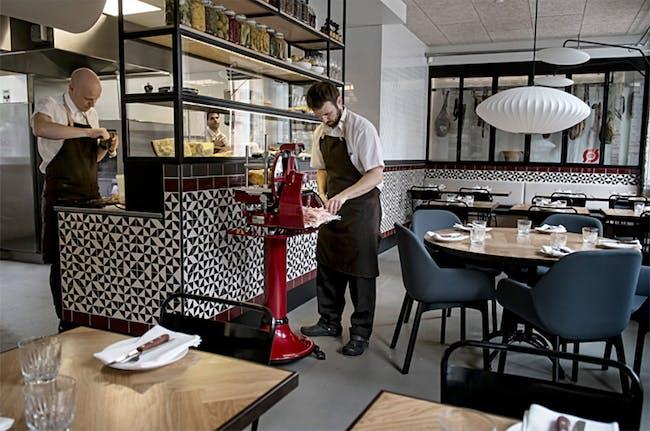 Restaurant Bæst. Photo courtesy of Bertelsen & Scheving.