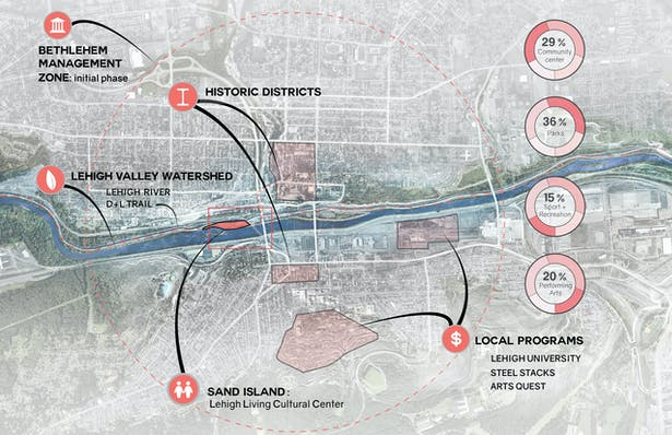 City map of Bethlehem
