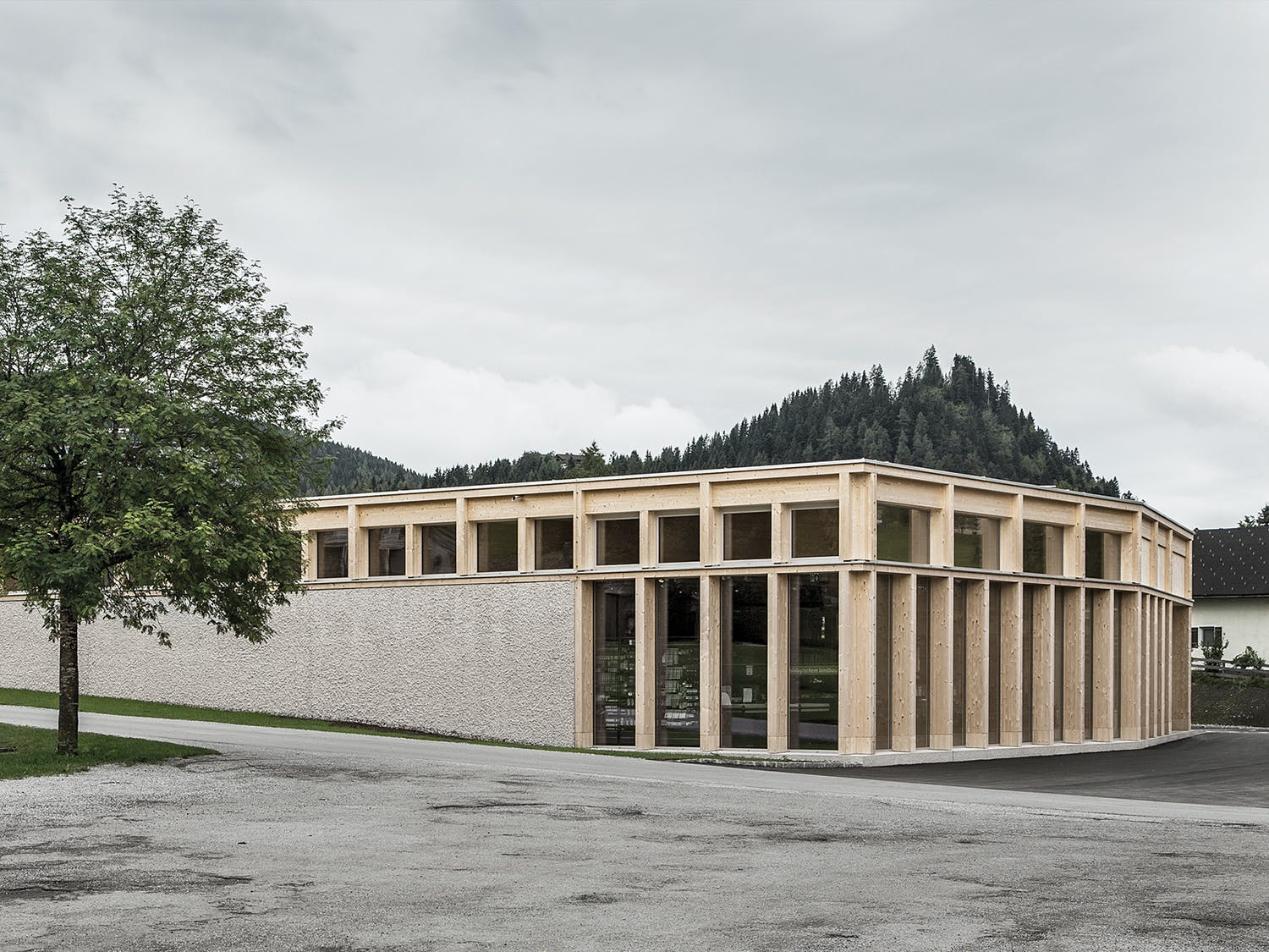 MPREIS St. Martin. Architect: LP architektur ZT GmbH. Location: Altenmarkt,  Austria. Photo courtesy of Best Architects 18.