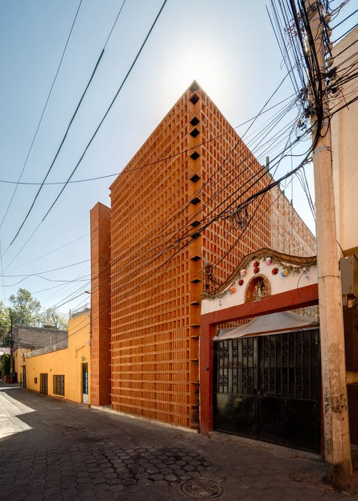 Iturbide Studio in Mexico City, Mexico by Taller | Mauricio Rocha+Gabriela Carrillo. Photo: Rafel Gamo.