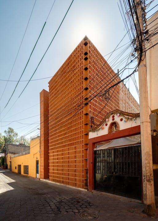 Iturbide Studio in Mexico City, Mexico by Taller | Mauricio Rocha+Gabriela Carrillo. Photo: Rafel Gamo.