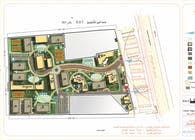 Obour University site plan