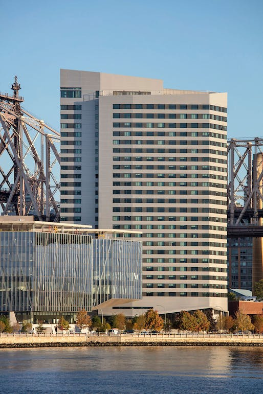 ​Project of the Year: The House at Cornell Tech, Roosevelt Island, New York. Photo courtesy of USGBC LEED Homes Awards.