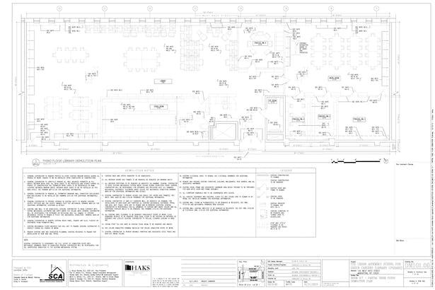 Demolition Floor Plan