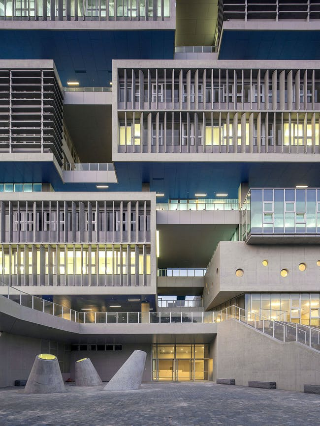 Tsinghua Ocean Center in Shenzhen, China by OPEN Architecture; Photo: Zhang Chao