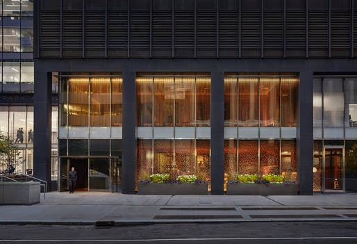 ​Award of Merit: The Four Seasons Restaurant | New York, NY. Photo: John Muggenborg.