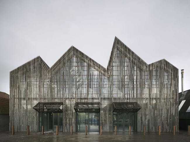 Kaap Skil, Maritime and Beachcombers Museum in Texel, the Netherlands by Mecanoo; Photo: Christian Richters