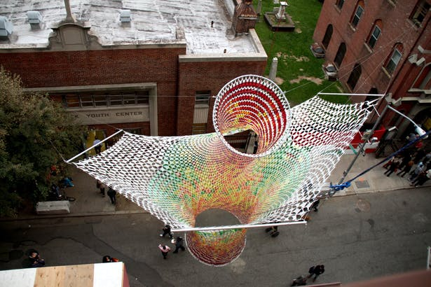 'Xtra Moenia' - San Gennaro Festival Sculpture (Image: Softlab)