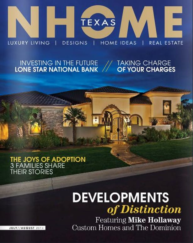 NHome Texas cover July 2013