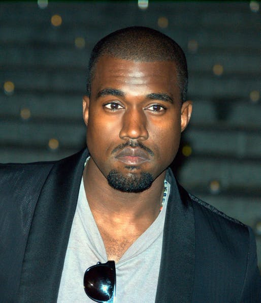Kanye West. Image via Wikipedia.