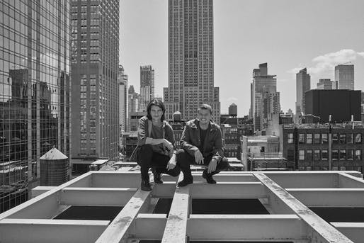 Adam Neumann and Bjarke Ingels. [Photo: Alexei Hay/courtesy WeWork]