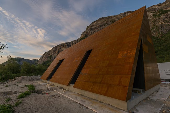 SALT architectural structure by Rintala Eggertson Architects. Photo: Gunnar Holmstad