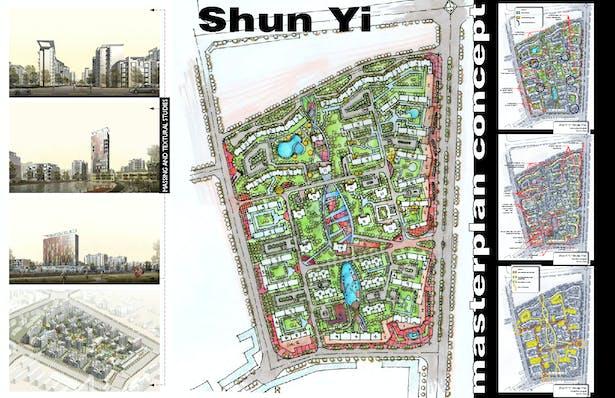 Mixed use development masterplan, Beijing