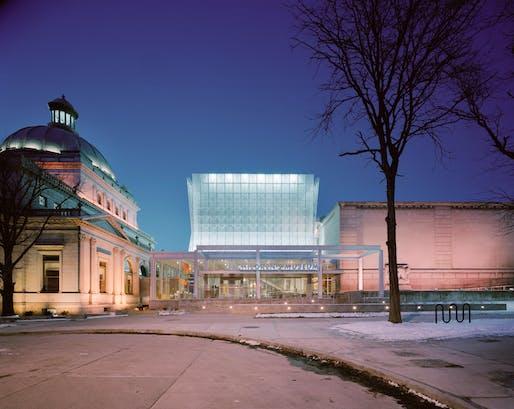 Children's Museum of Pittsburgh. Photo © Esto.