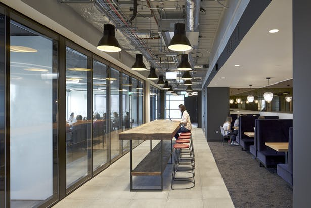 Open spaces encourage agile-working