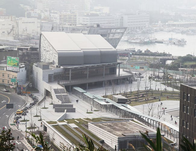 Urban Design Honor Award Winner: Badouzi Harbor Urban Design with the National Museum of Marine Science & Technology and the National Aquarium in Keelung City, Taiwan by J.M. Lin Architect (Image Credit: J.M. Lin Architect)