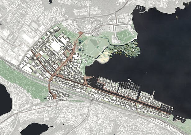 'Hiedanranta Innovation Bay' Masterplan