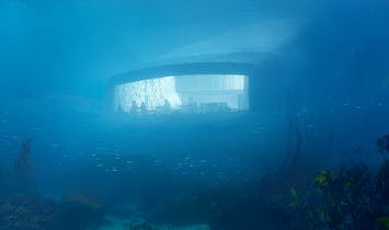 Under the sea: new Snøhetta-designed underwater restaurant in Norway will be Europe's first