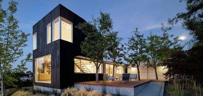Shou Sugi Ban House in Los Gatos, CA by Schwartz and Architecture (SaA)