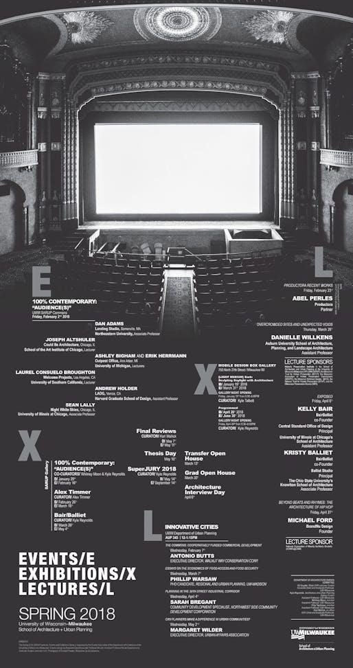 Poster courtesy of University of Wisconsin - Milwaukee SARUP.