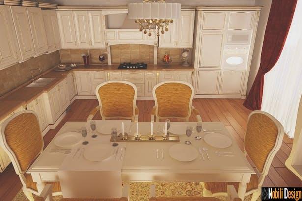 Proiect design interior casa stil clasic in Brasov