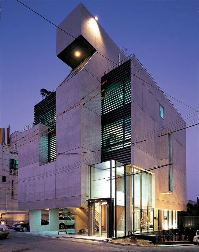 U-gallery in Seoul, South Korea by Gideon Kwon