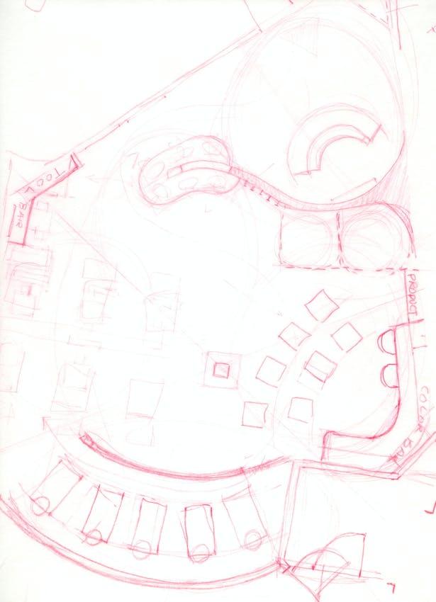Original Plan Conceptual Sketch