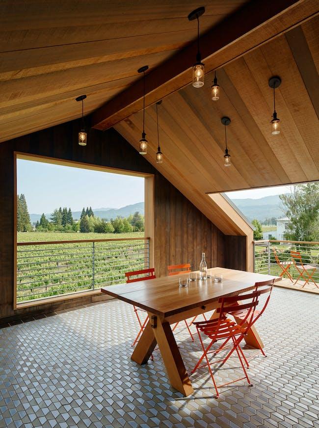 Napa Barn in Saint Helena, CA by anderson architects