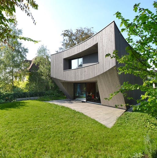 HONOR: Casa Curved, Basel, Switzerland, Daluz Gonzalez Architekten. Courtesy of the 2017 Wood Design & Building Awards.