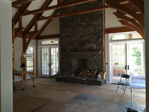 TIMBER FRAME GREAT ROOM ADDITION