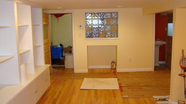 basement - under construction