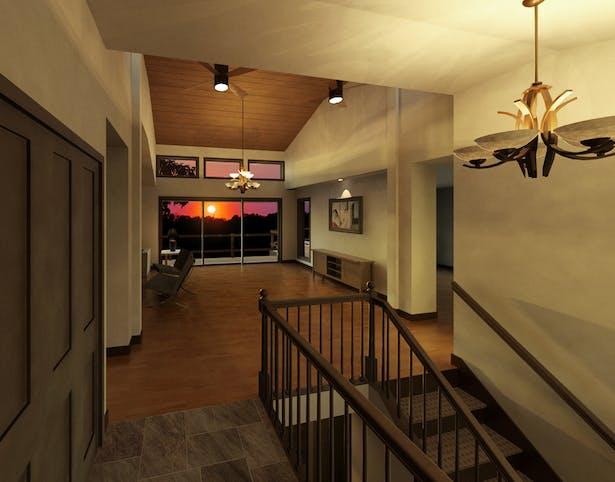 Rendering of Foyer