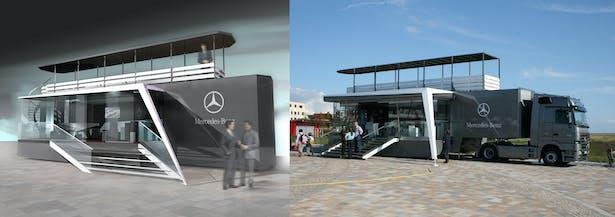 e724070f20f86 Mercedes GLK Promotion car   Andrej Serafin   Archinect
