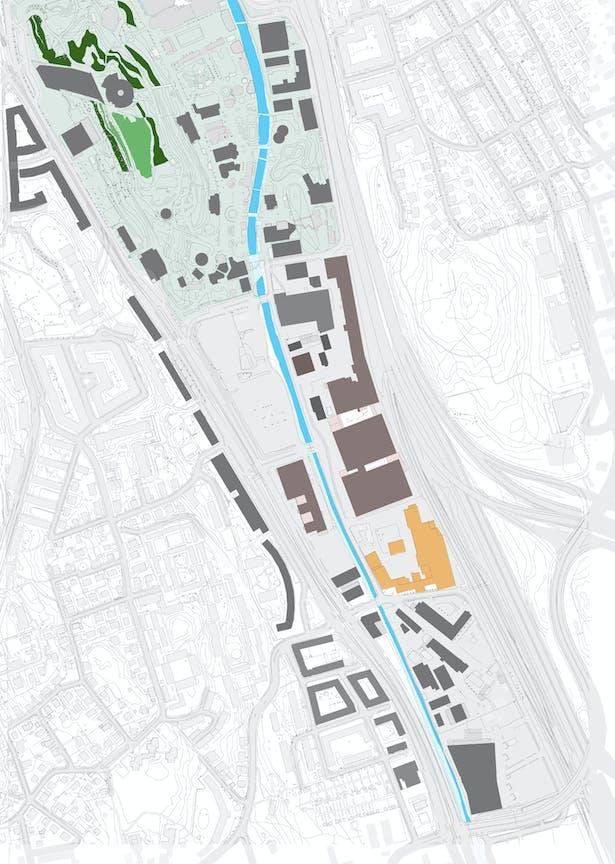 Analyze part I: 1:5000 area city planning