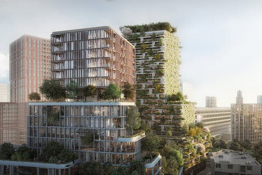 Wonderwoods by MVSA Architects + Stefano Boeri Architetti, overall winner of 2019 Future Project Awards.