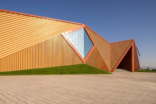 Great Wall Yunmo Winery in Yinchuan, China by a+a anderloni associates