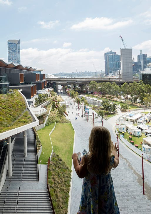 Lloyd Rees Award for Urban Design: Darling Harbour Transformation. Photo: Brett Boardman.