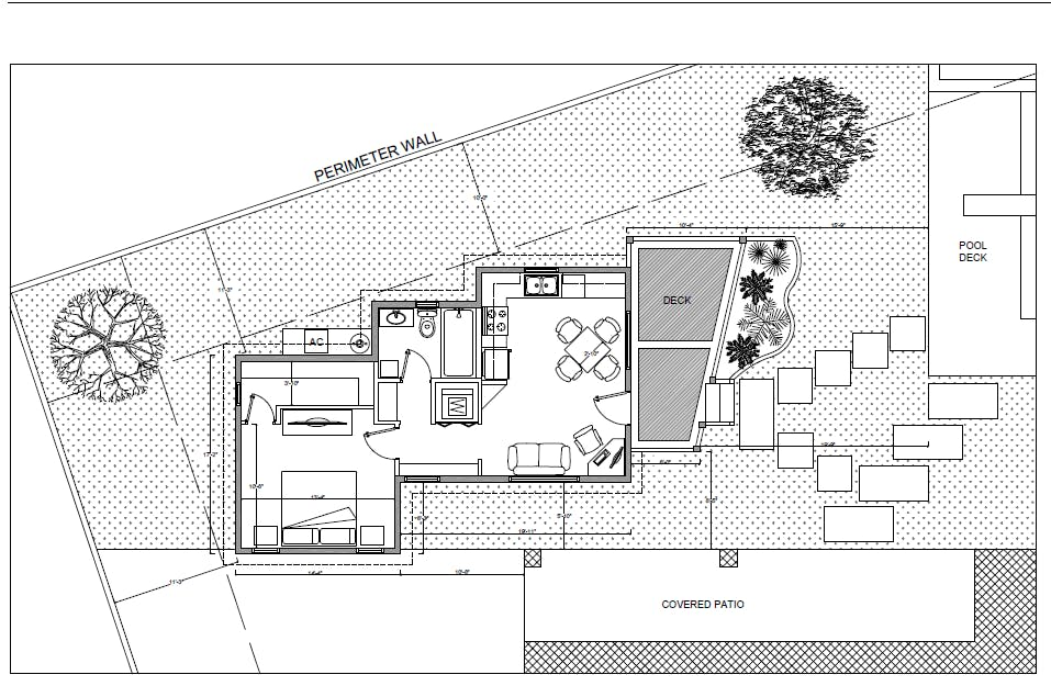 Pool guest house daniel hidalgo archinect Plans for guest house