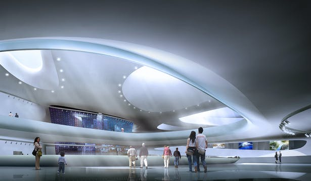 Planning Exhibition Center Interior 2