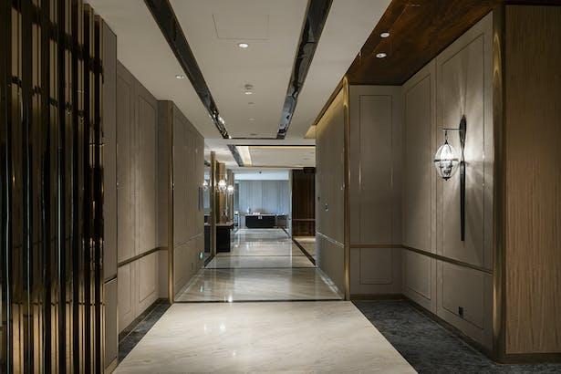 Fuzhou Kempinski Hotel - Corridor