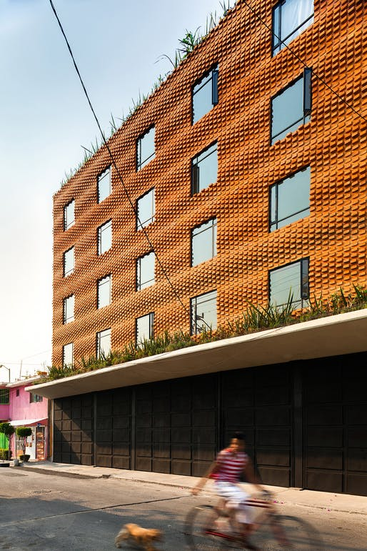 Isaac Michan Daniel of Michan Architecture: Z53 Social Housing, Mexico City, 2012. Image credit: Rafael Gamo.