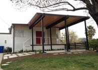 Neutra home, Car port addition