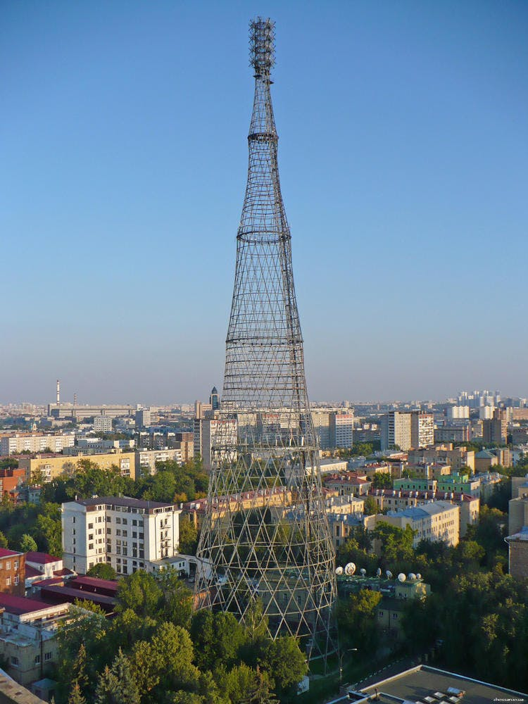 Moscow's iconic Shukhov Tower added to World Monuments Fund Watch