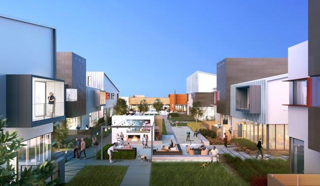 Elevon Creative Campus, photo by Bezier, courtesy of Ehrlich Architects.