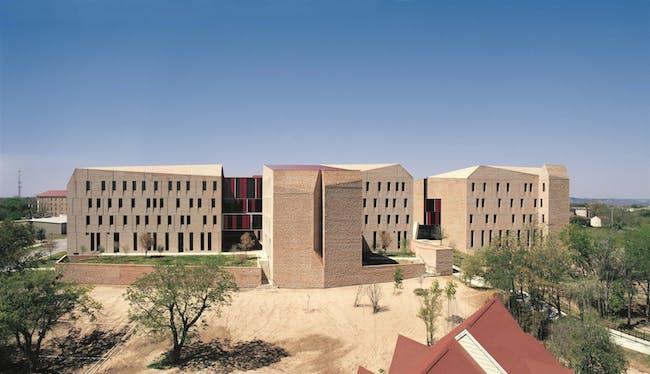 St. Edward's University Dorms, 2008, Austin, Texas, USA. Photo by Cristobal Palma. Courtesy of ELEMENTAL.