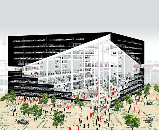Axel-Springer-Campus. Image: OMA.