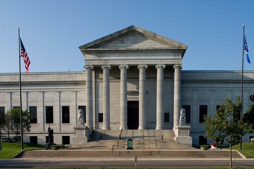 Original museum entrance, designed by McKim, Mead & White (1915). Image courtesy of the Minneapolis Institute of Art.